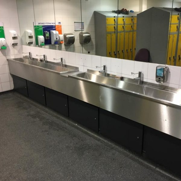 Washroom Birmingham Airport